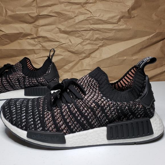 Adidas Shoes Nmd R1 Stlt Primeknit Black Pink Poshmark